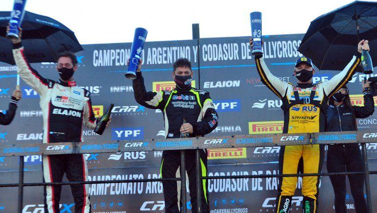 Alejandro Cancio logró la victoria en la cuarta fecha del CARX