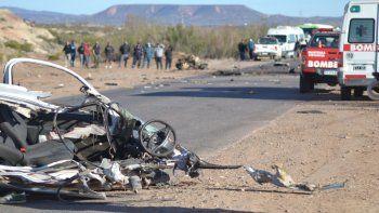 Choque fatal en Rincón: un muerto y cuatro heridos