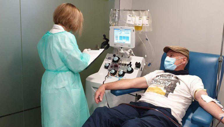 Ministerio de Salud: El plasma puede ser beneficioso