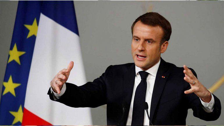 Un millón de franceses se anotaron para vacunarse tras el anuncio del presidente Emmanuel Macron.
