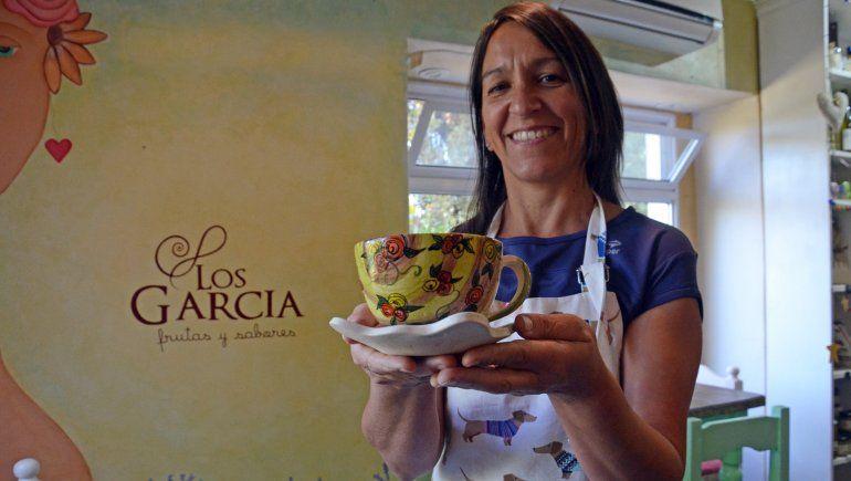 La historia de Los García: el emprendimiento de frutos rojos y la casa de té