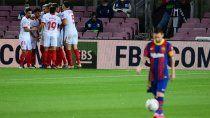 copa del rey: el barcelona ira por la remontada ante el sevilla
