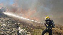 incendio en junin de los andes: el fuego esta controlado