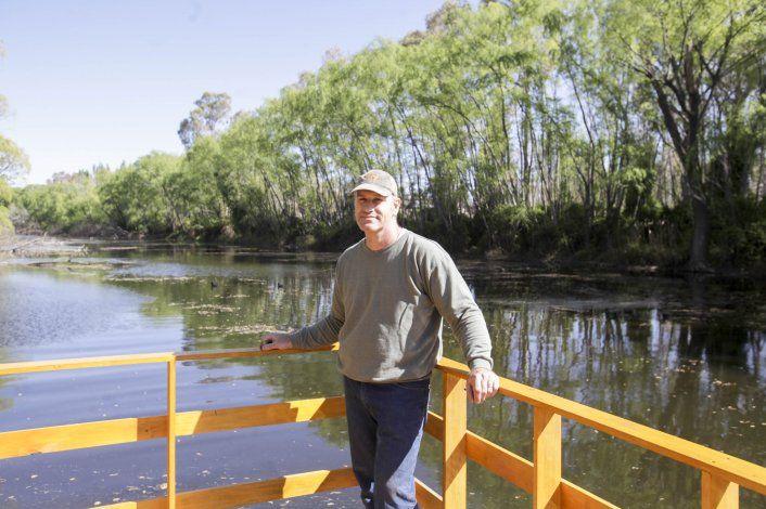 El biólogo Hernán López es el curador del Jardín Botánico.