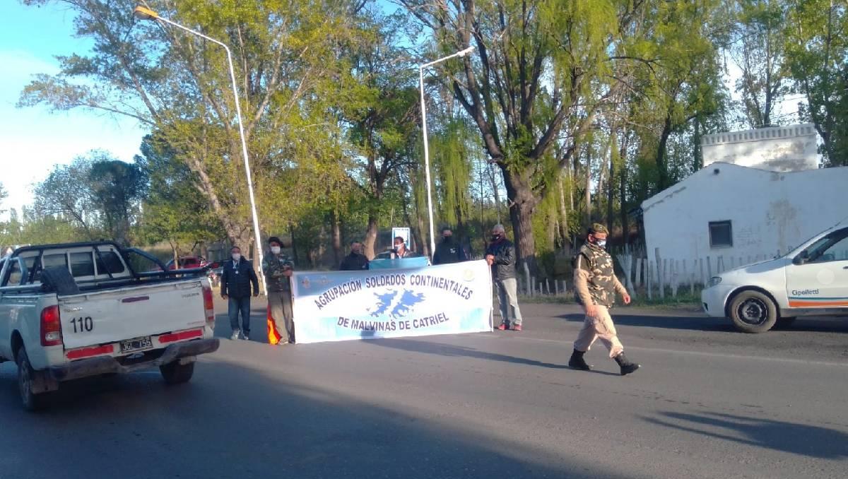 ruta 22: veteranos realizan cortes en los puentes carreteros