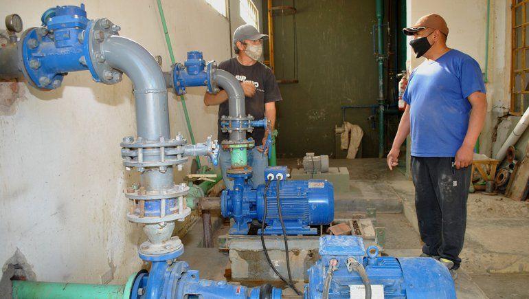Mejorarán la calidad de agua potable de Mariano Moreno