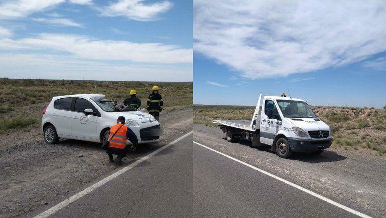 Ruta 151: iban en el mismo sentido y protagonizaron un fatal accidente