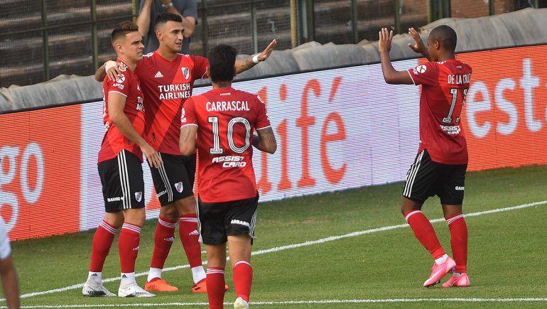 River venció 1 a 0 Platense pero lamenta la lesión de Pinola