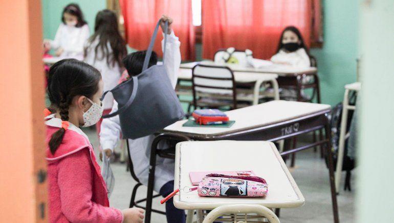 Provincia ratificó que el martes vuelven las clases presenciales en departamento Confluencia