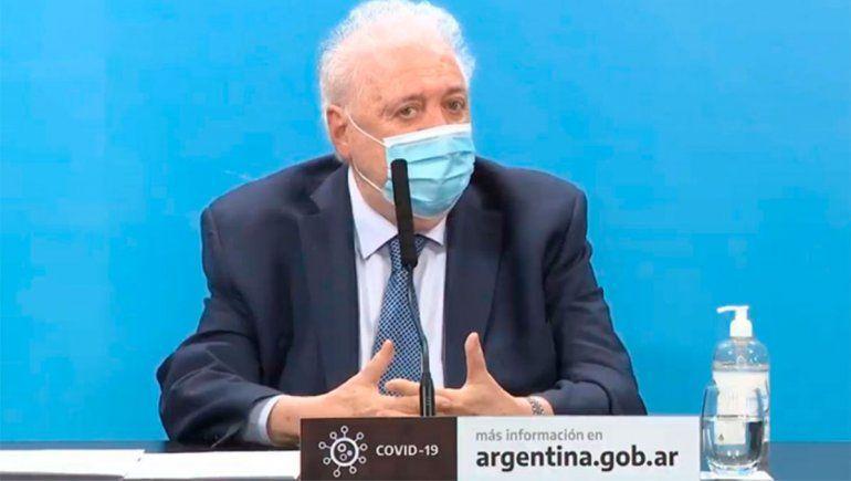 Ginés González García advirtió de la necesidad de cuidarse de los contagios