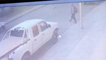 Video: así se robaron una camioneta en cercanías a un hiper