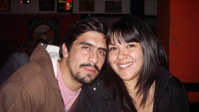 Juan Pablo y su mujer, antes de enfermarse de ELA.