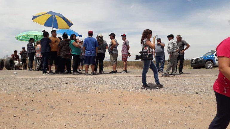 Sauzal Bonito: piden con un corte de ruta las respuestas por sismos
