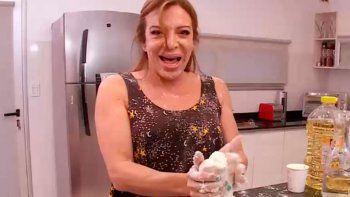 lizy tagliani pide pista en masterchef celebrity