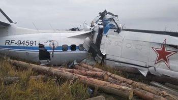 Rusia: se estrelló un avión L-410 y hay al menos 16 muertos