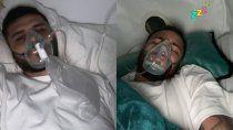 la foto de mauro icardi con mascara de oxigeno que alarmo a sus seguidores