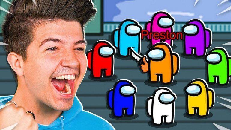 Among Us: youtuber organizó partida de 100 jugadores