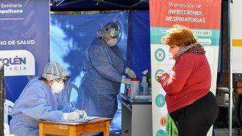 Neuquén sumó 210 casos de coronavirus