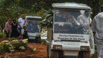 record: en brasil murieron mas de 4000 personas en las ultimas 24 horas