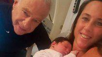 alberto cormillot inundo las redes sociales con fotos de su nuevo hijo