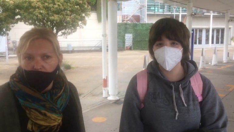 No pudieron viajar en el primer vuelo a Neuquén porque eran de Roca