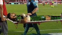Arias fue reemplazado en camillas ante el Pincha.