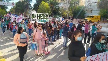 la marcha de autoconvocados de salud reclamo una propuesta en serio