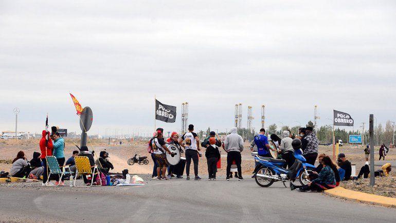 Organizaciones sociales liberaron el corte en la Autovía Norte