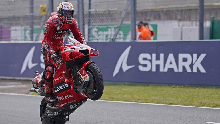 Jack Miller consiguió una nueva victoria con Ducati en el MotoGP