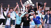 argentina quiere seguir de racha ante uruguay en el monumental