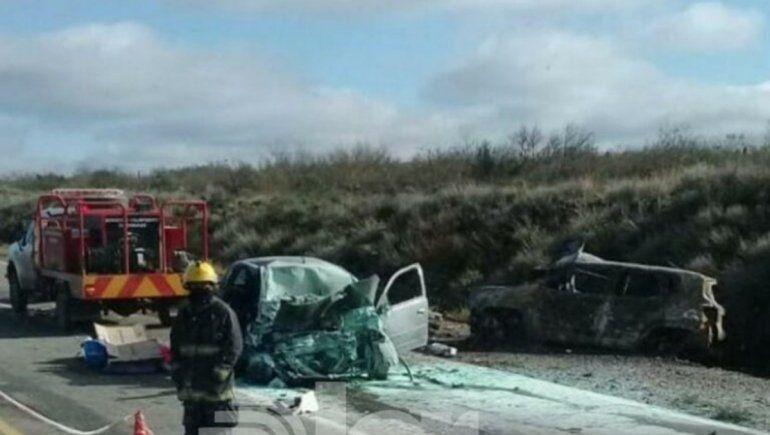Las víctimas del trágico choque de Chichinales eran de Bahía Blanca