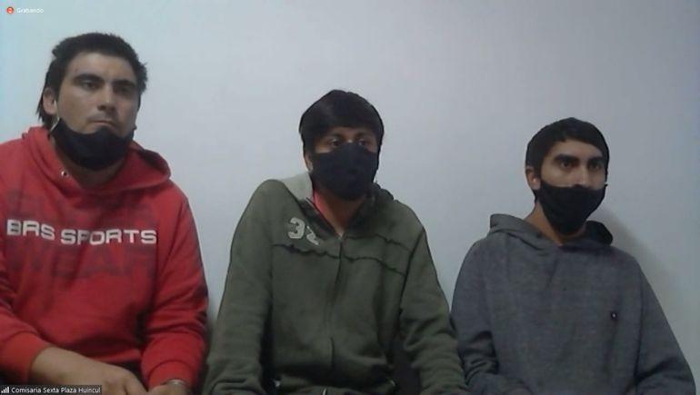 Los hermanos Muñoz y Posso son los tres imputados por el homicidio de Daira Acuña.