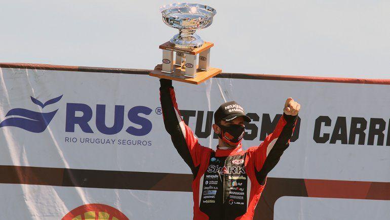 Benvenuti brilla en el TC y avisa: Vamos por el campeonato, Neuquén