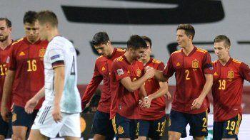 espana le dio una paliza historica a alemania y lo goleo 6-0