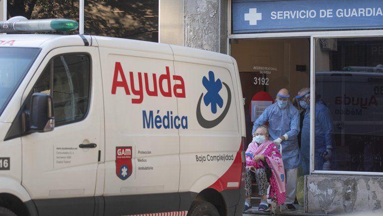 COVID: Argentina volvió a sobrepasar los 500 muertos en un día