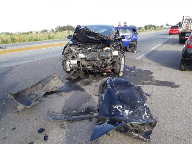 El boxeador, borracho, chocó a dos autos que habían colisionado minutos antes en San Vicente.