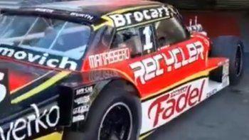 Mariano Werner y sus mecánicos sufrieron un accidente en la ruta cuando viajaban al autódromo de a La Plata. Todos están bien y ya llegaron al circuito.