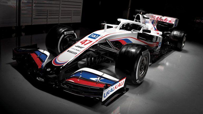 Haas afrontará el 2021 de la Fórmula 1 con el VF-21.