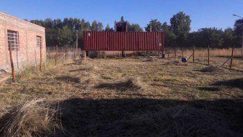 le robaron un contenedor valuado en $600 mil y pide ayuda para encontrarlo