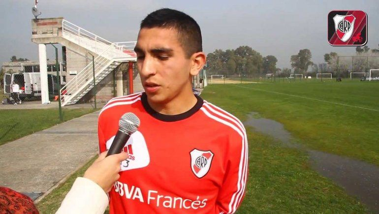 Iván Díaz hizo todas las inferiores en River pero no tuvo lugar en la Primera y se fue a Europa.