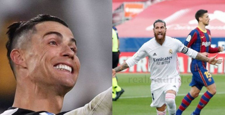 El provocador festejo de Ronaldo por el triunfo del Real Madrid