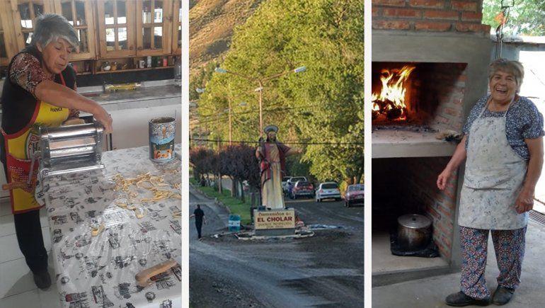 La cocina de Doña Bica, un refugio de la cultura neuquina en El Cholar