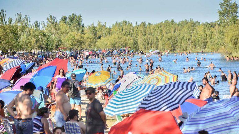 La temperatura sube y Neuquén está en el podio de las más calurosas del país