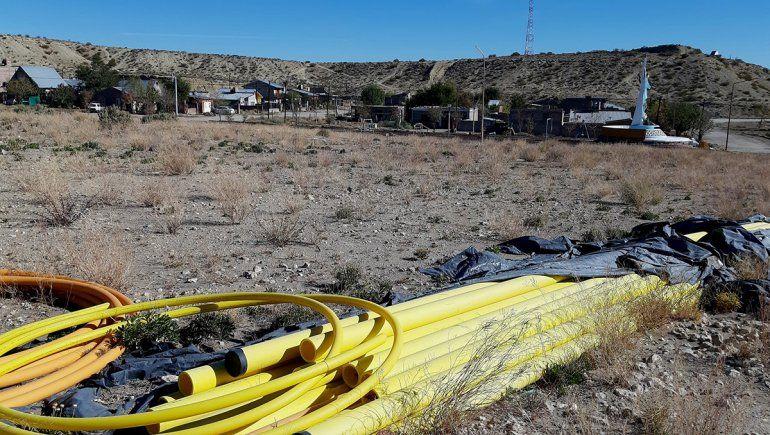 85 familias se suman a la obra de gas en Mariano Moreno