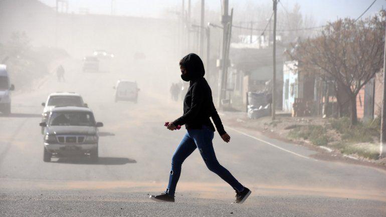 Pronóstico en Neuquén: se viene un finde con fuertes vientos