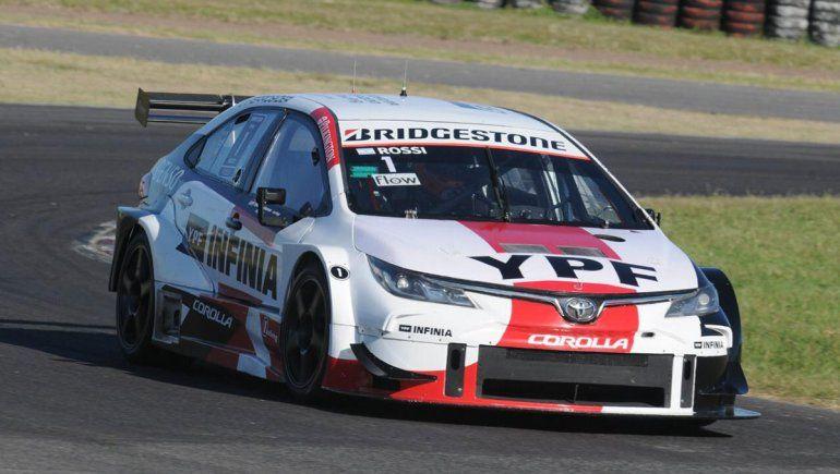 Matías Rossi se llevó la carrera clasificatoria del Súper TC2000 en Buenos Aires