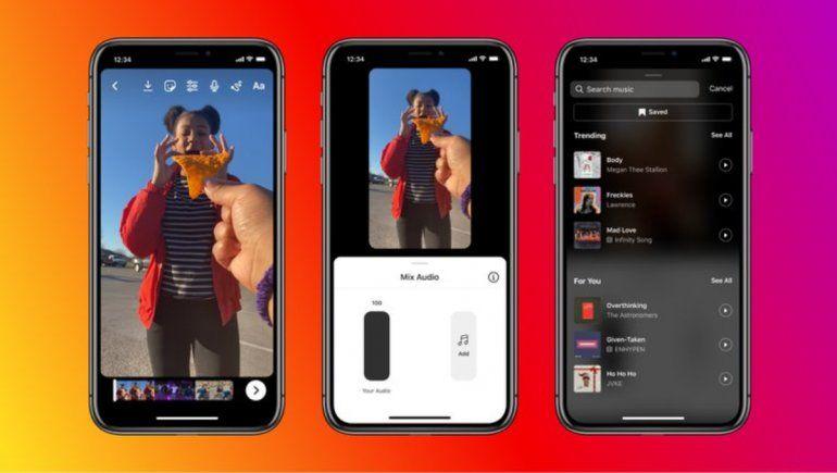 Voz en off, la nueva función de Instagram para Reels