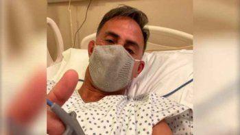 Preocupación: Diego Latorre fue internado por coronavirus