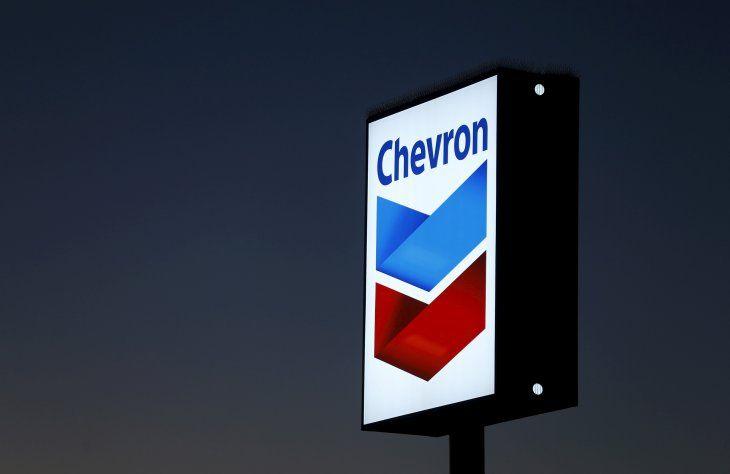 Imagen de archivo de una estación de gasolina de Chevron en Cardiff
