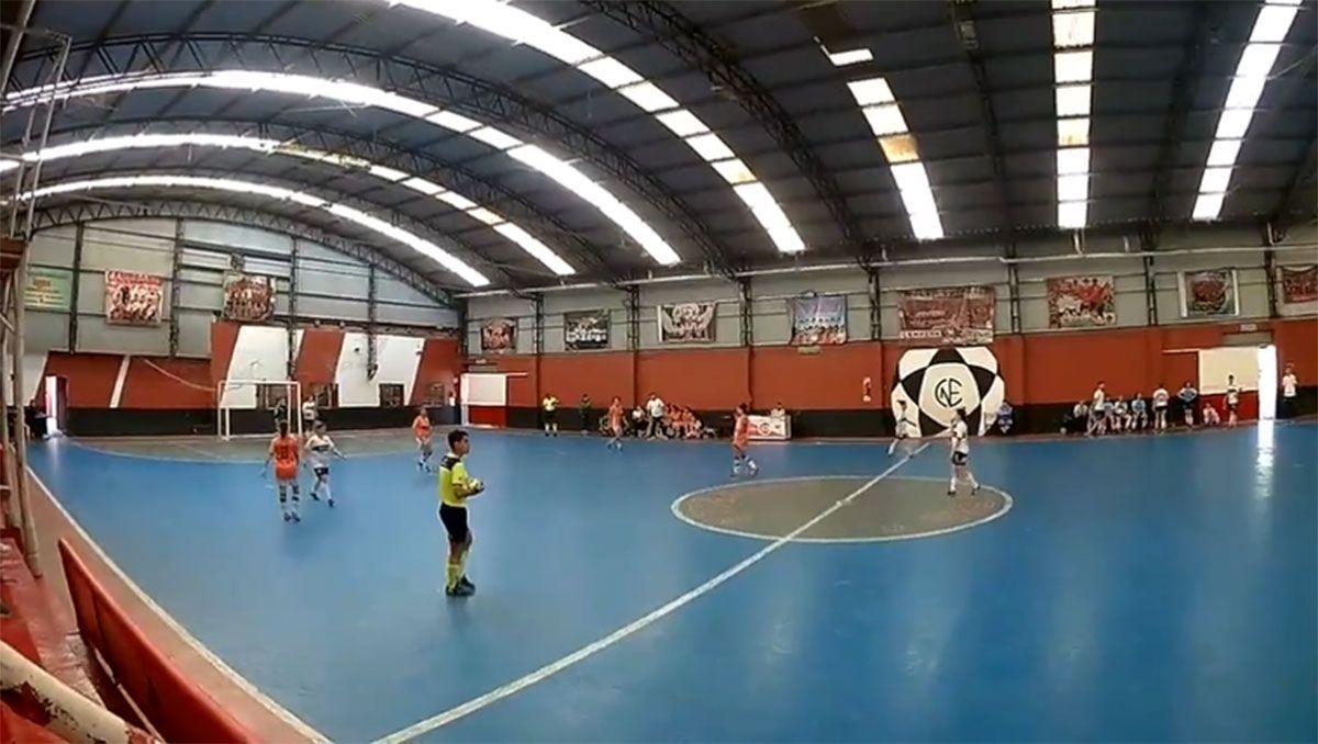 escandalo en el futsal femenino: un equipo se hizo cuatro goles en contra